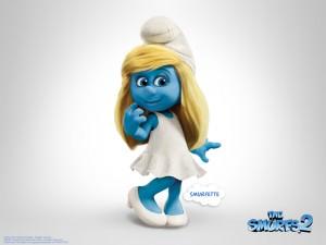 smurfette from smurfs 2