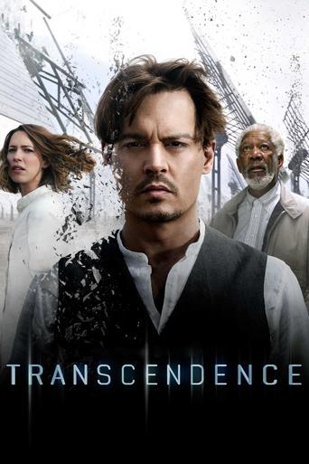 "Poster for the movie ""Transcendence"""