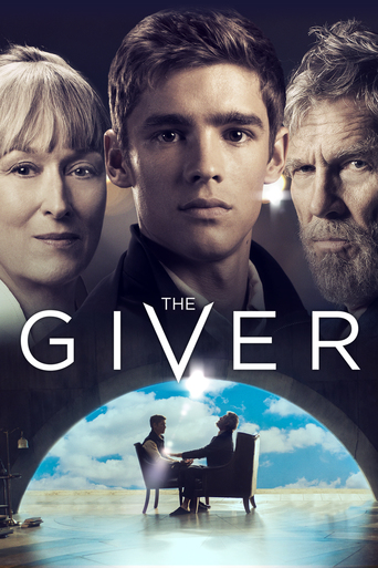 "Poster for the movie ""The Giver"""