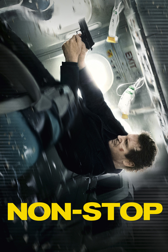 "Poster for the movie ""Non-Stop"""