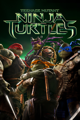 "Poster for the movie ""Teenage Mutant Ninja Turtles"""