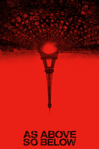 "Poster for the movie ""As Above, So Below"""