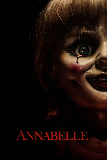 "Poster for the movie ""Annabelle"""