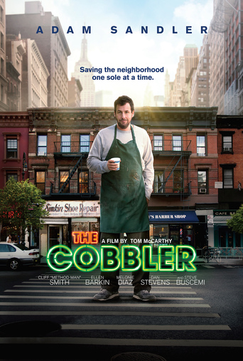"Poster for the movie ""The Cobbler"""
