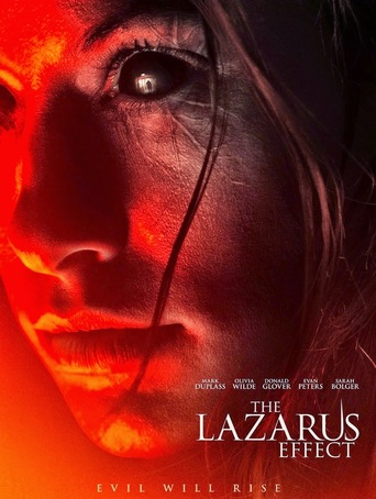 "Poster for the movie ""The Lazarus Effect"""