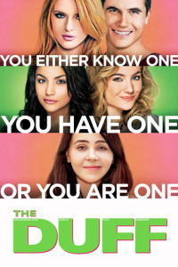 "Poster for the movie ""The DUFF"""